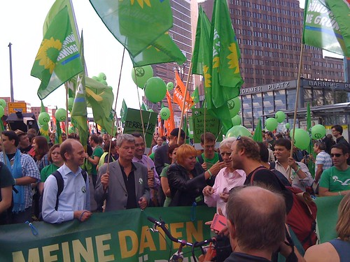 Greens at Freiheit statt Angst | by bblfish