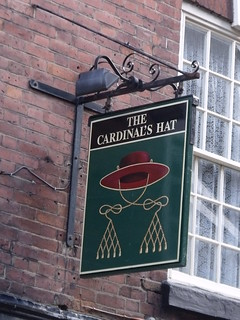 The Cardinal's Hat - Friar St, Worcester - pub sign | by ell brown