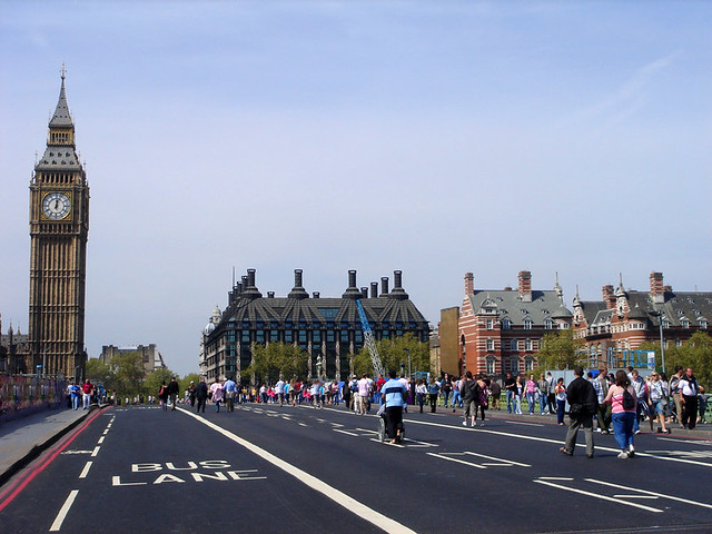 The Establishing Shot: WESTMINSTER BRIDGE FILM LOCATION USED IN 28 DAYS LATER - WESTMINSTER, LONDON