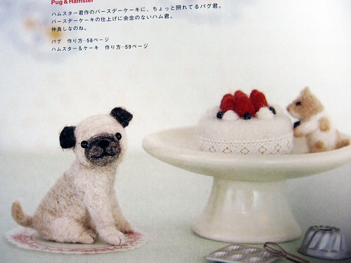 9784277563185 Needlefelted Small Dogs Pug And Hamster