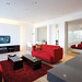 red interior design photos
