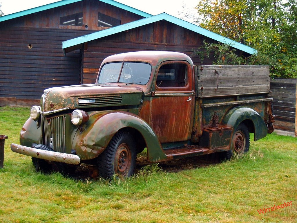 Old Ford Pickup truck | pete | Flickr