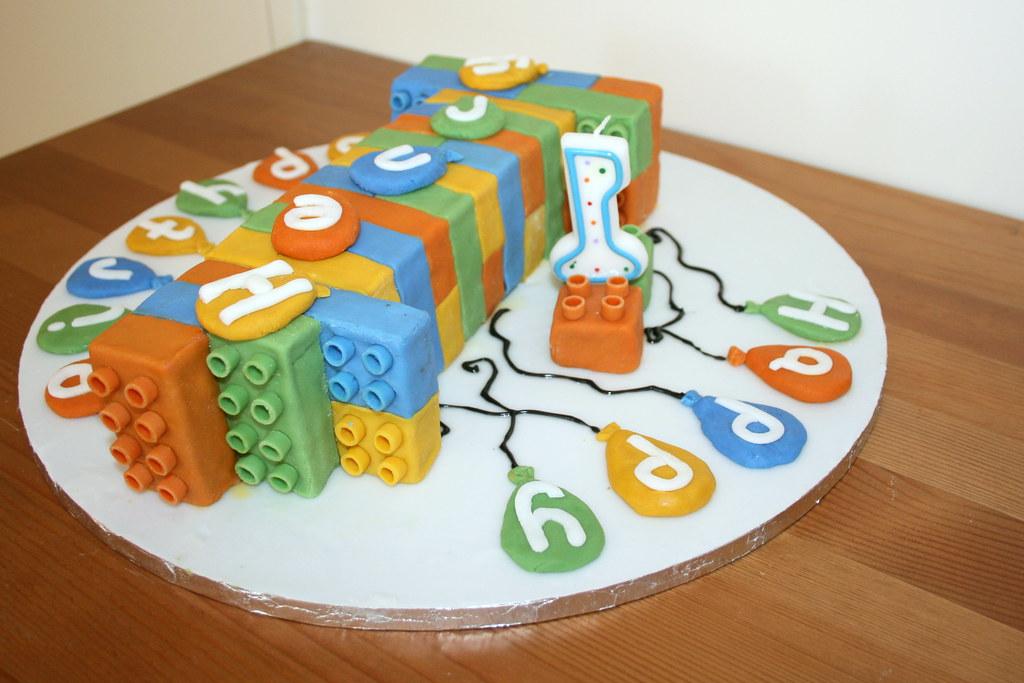 Birthday Cake Lego Batman