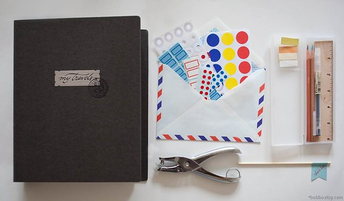 travel journal set | by bubbo.etsy.com