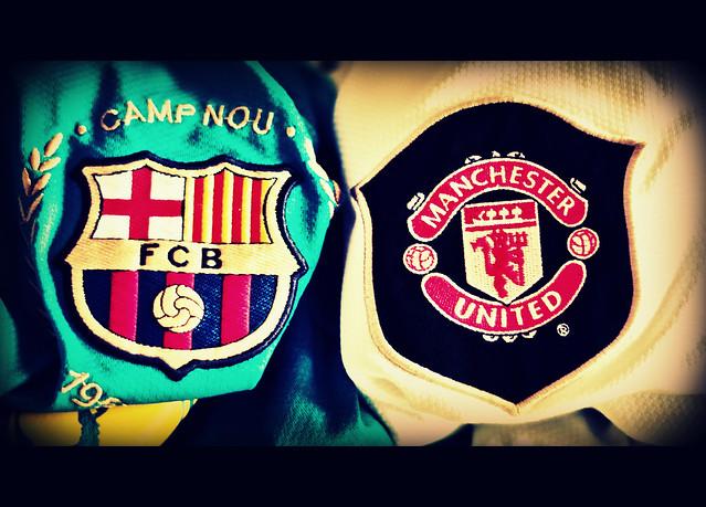 Barcelona Vs Man City Logo: Manchester United V FC Barcelona