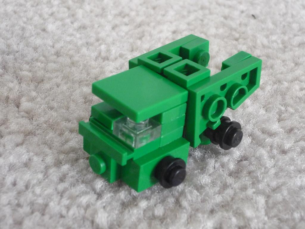 Как сделать из лего машину трансформер