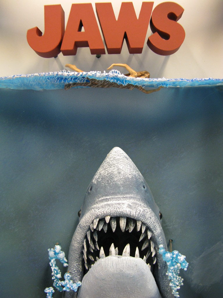 Jaws 3d Movie Poster Awesome Birthday Gift From Leena