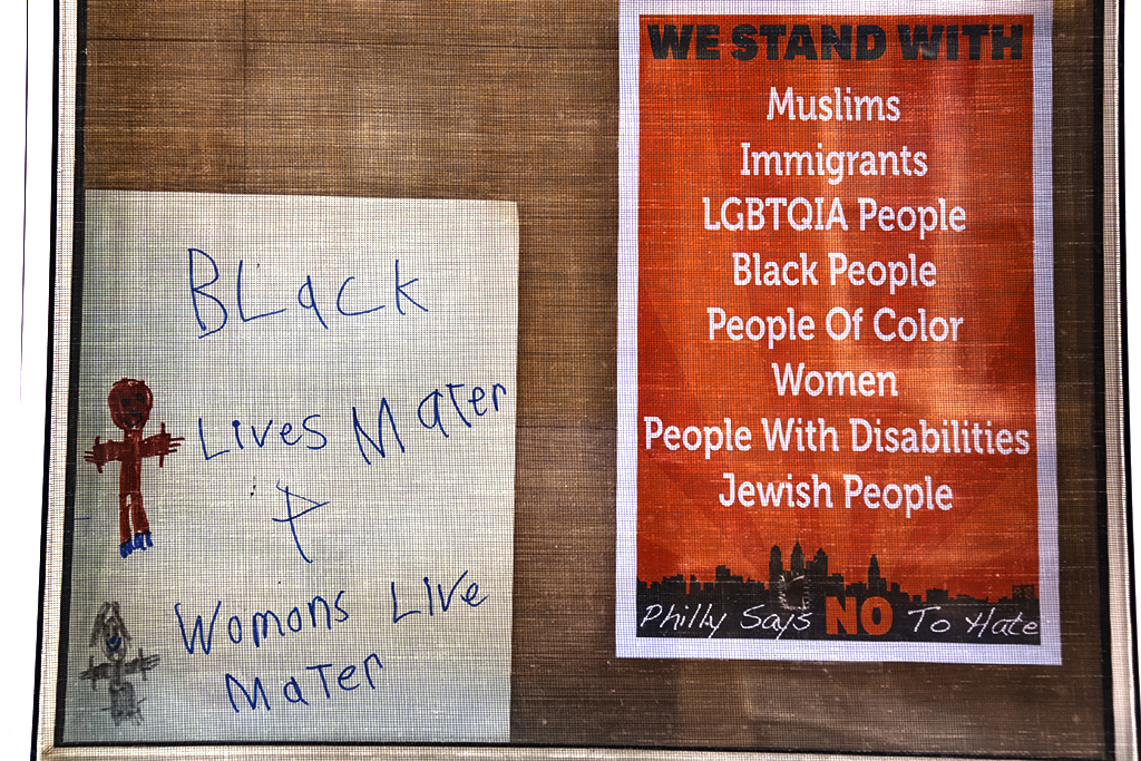 Black Lives Mater Womons Live Mater--Passyunk Square
