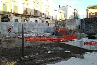 Noicattaro. lavori Fossato front