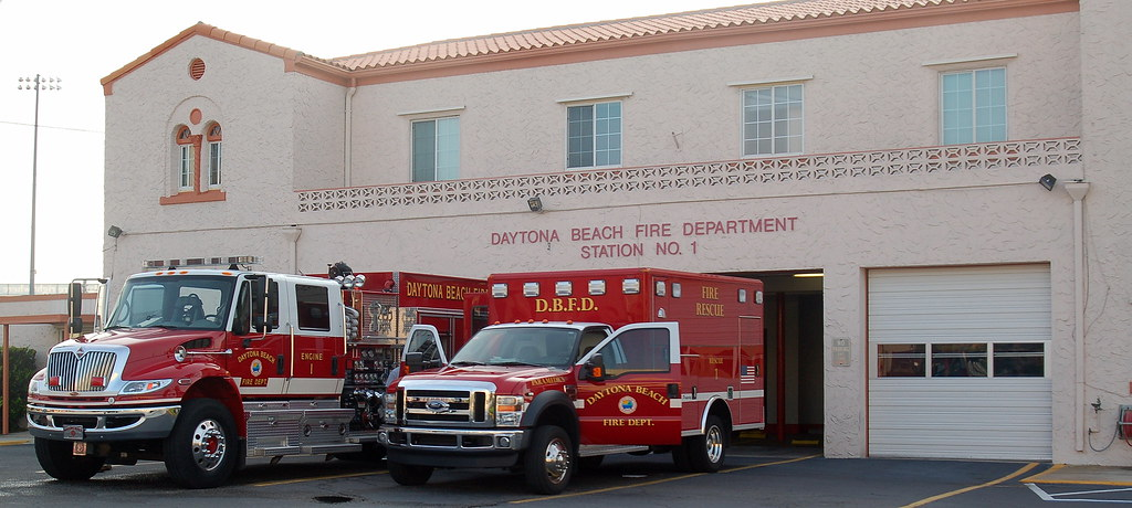 Daytona Beach Fire Station 1 | Engine and Rescue 1 are looke… | Flickr