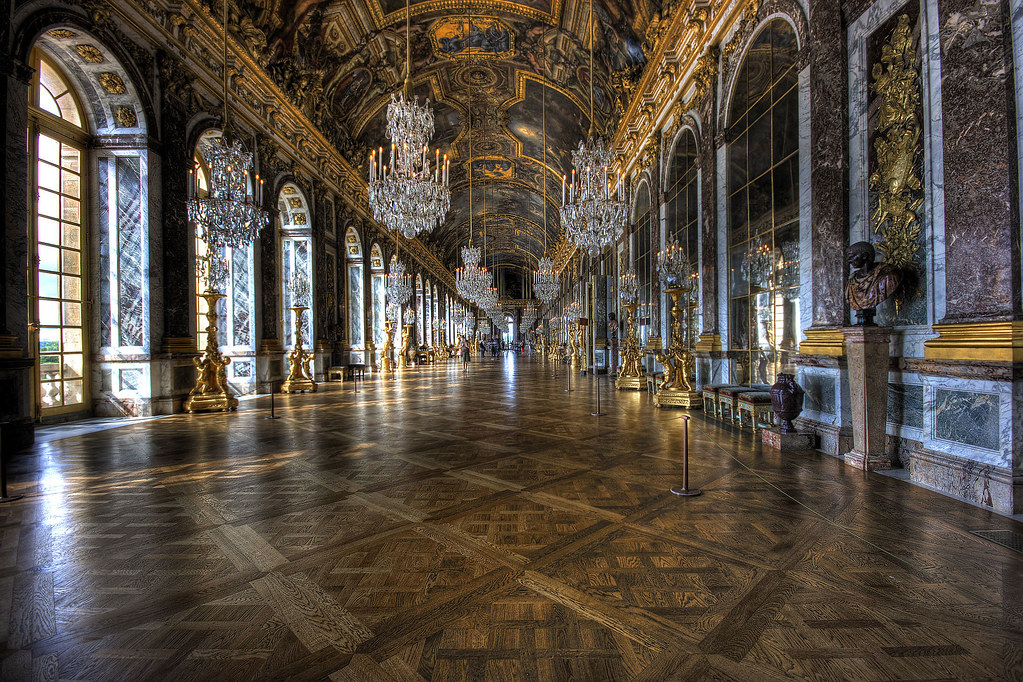 Hall Of Mirrors Palace Of Versailles Explore 329 The Ha Flickr
