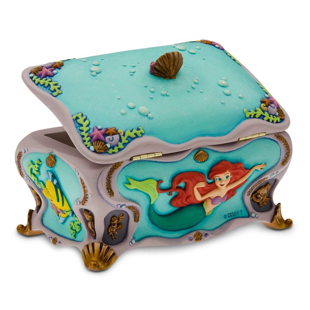 Personalized Ariel Music Box Back Disney Shoppingcom pi Flickr