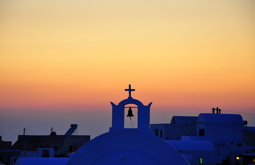Oia, Santorini | by DarkB4Dawn