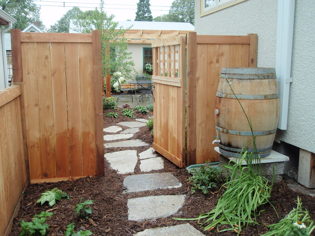 Cedar Dog Ear Fence Panels