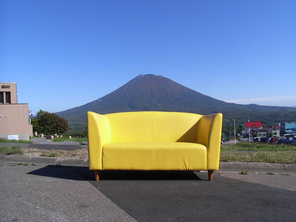 Sofa ökologisch yellow yotei goodbye yellow our mo flickr
