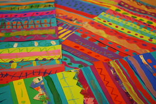 Mexican Blankets at the Marketplace | by paintedpaper