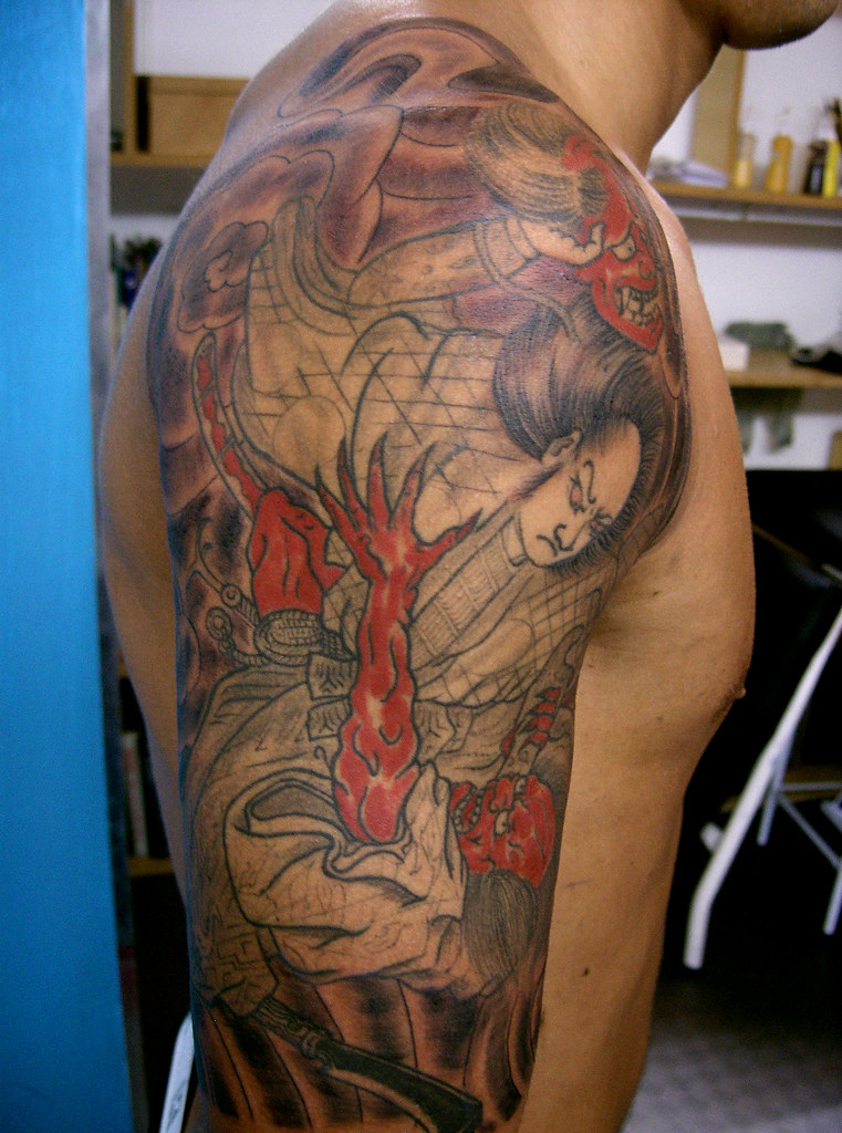 Japanese Tattoo Character Designs