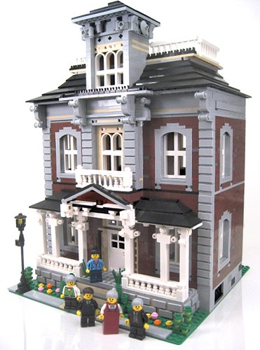 Brickstone manor victorian home more at www for Custom built victorian homes
