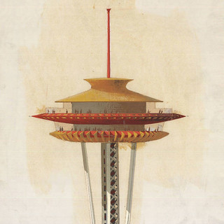 1962 - space needle illus. | by x-ray delta one