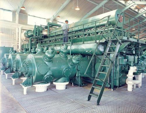cooper bessember integral engine compressor