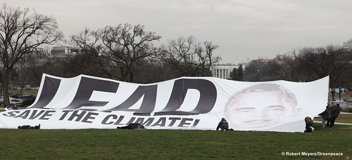Greenpeace Banner | by Greenpeace USA 2016