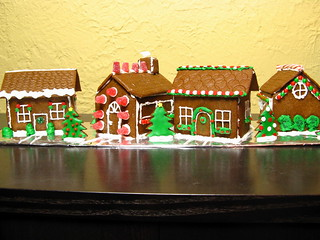 Daring Baker's Gingerbread Houses | by katbaro