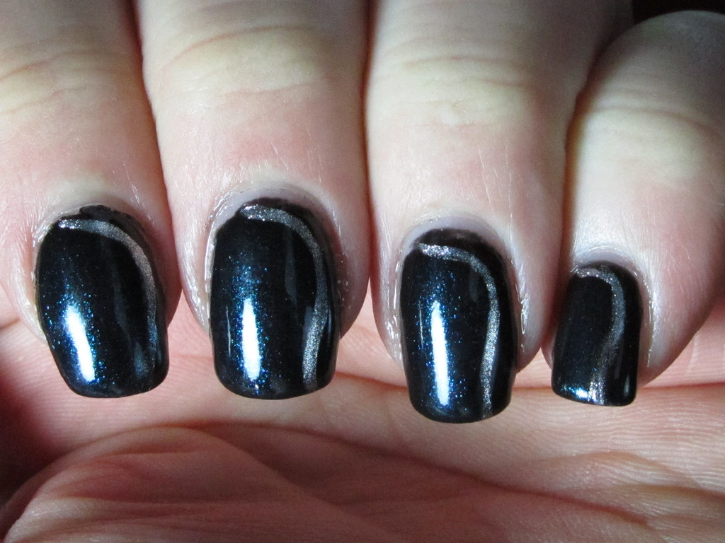 In Space No One Can See You Do The Robot Nail Art - Previe… | Flickr
