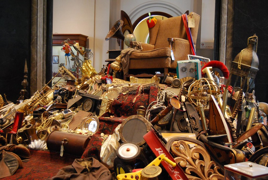 For Christina >> Loot at the Smithsonian | A pile of 'stuff' on display at th… | Flickr