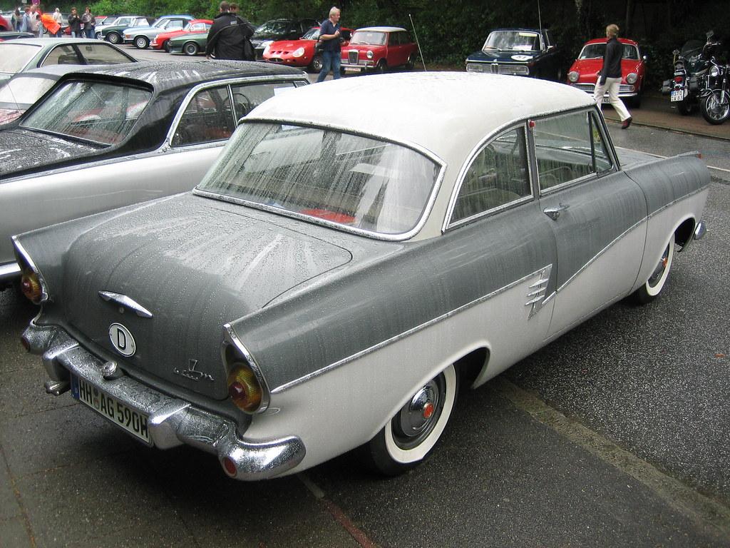 ford taunus 17m p2 de luxe 1957 1960 2 hamburg. Black Bedroom Furniture Sets. Home Design Ideas