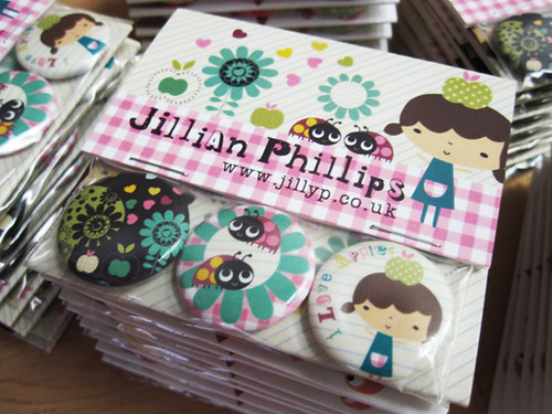 Jillian phillips 1 badge sets custom packaging by www for Michaels crafts button maker