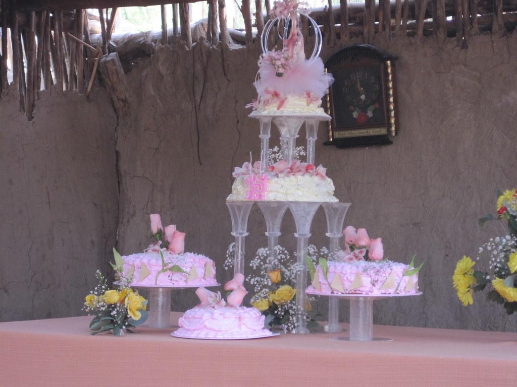 Die Torte Bei Einem 15 Geburtstag Von Einem Maedchen Der Flickr