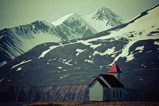Church at Flatey Island, Iceland | by Xindaan