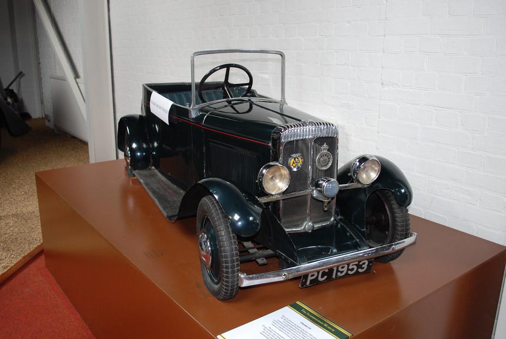 Sandringham Museum Cars Sandringham Museum Model Citroen c4 Electric Car Later Fitted With Daimler