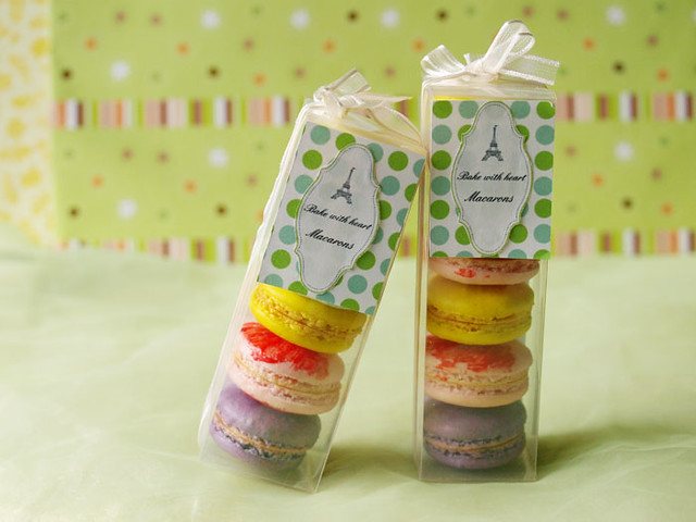 Macarons & DIY gift package | My macarons & DIY gift ...