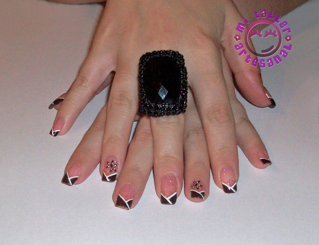 U as decoradas mis manos con anillo n 56 hola no s for Plantas decoradas con piedras