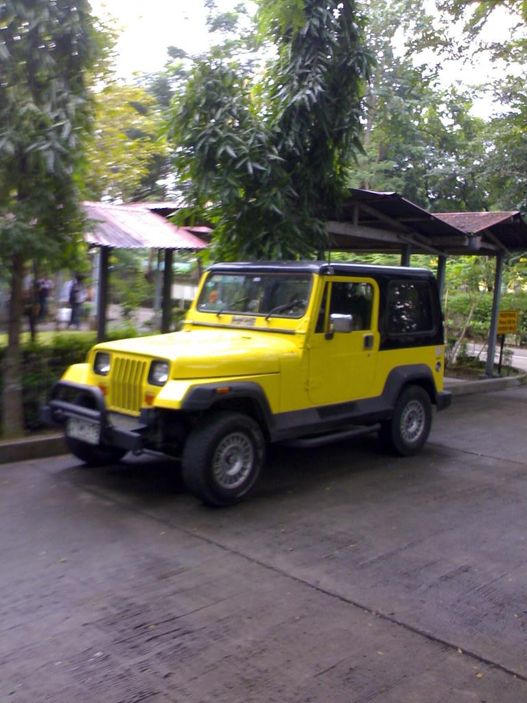 Pinoy Wrangler Jeep Yellow Pinoy Made Wrangler Type Jeep