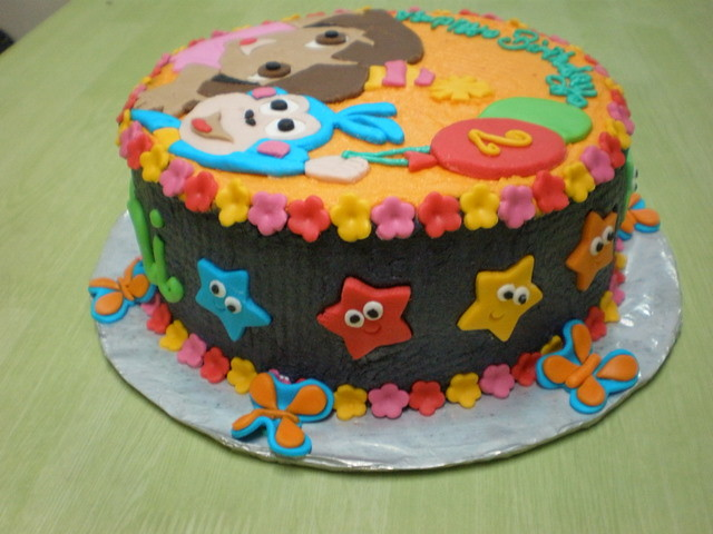 Dora Cake Recipe In English: Dora The Explorer And Boots Cake