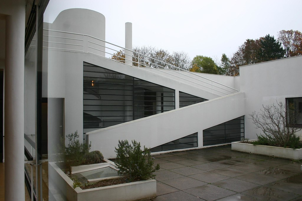 Villa Savoye Roof Deck At 1st Floor Mark Hogan Flickr