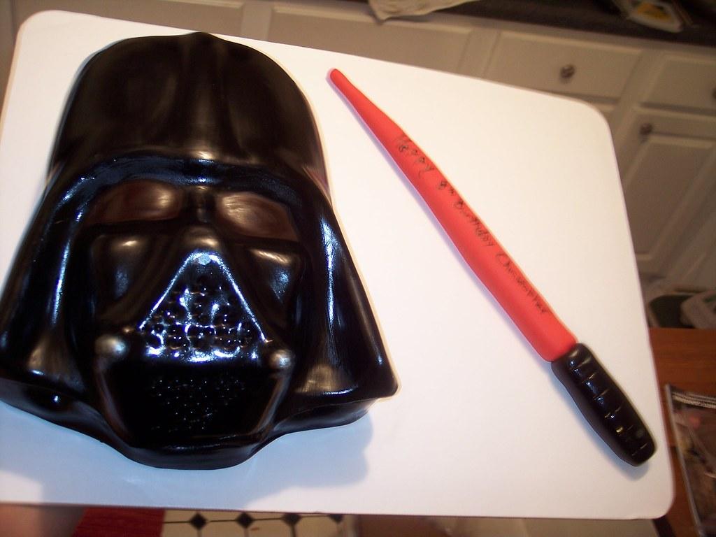 Star Wars Darth Vader Cake Carolina Cakes Amp Confections Wi