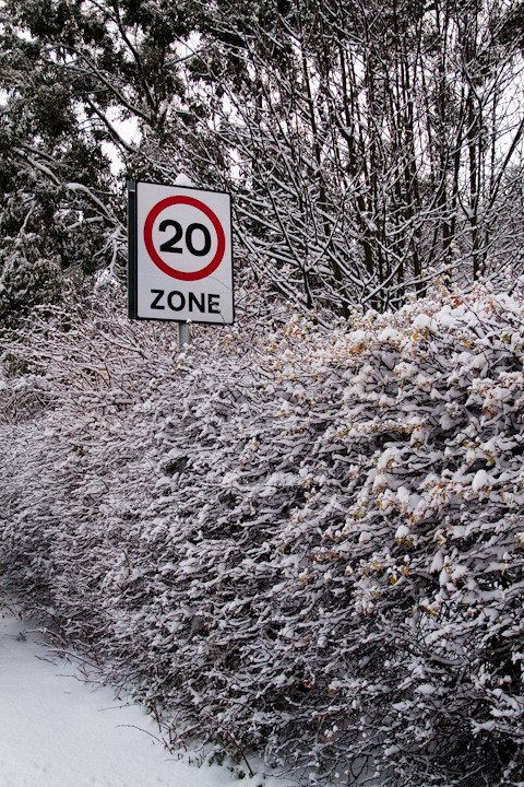 Sticky Snow in a 20 Zone | Snow never feels sticky when it g ...