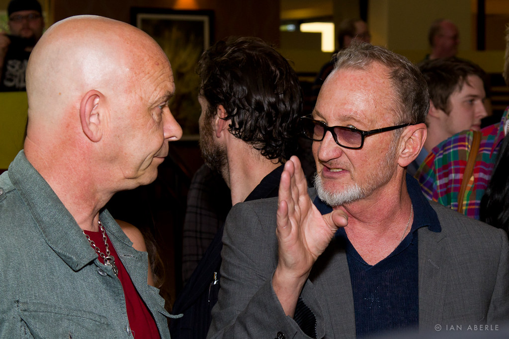Doug Bradley Amp Robert Englund On The Red Carpet At Texas