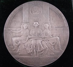 1909 Hudson Fulton Celebration Medal obverse