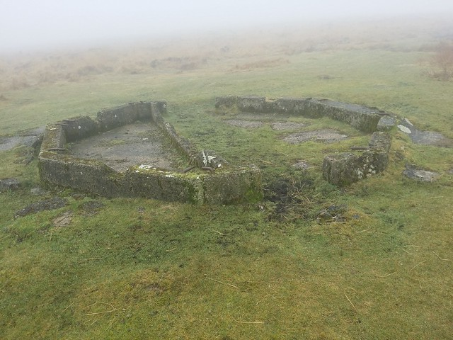 Remains of an old pillbox