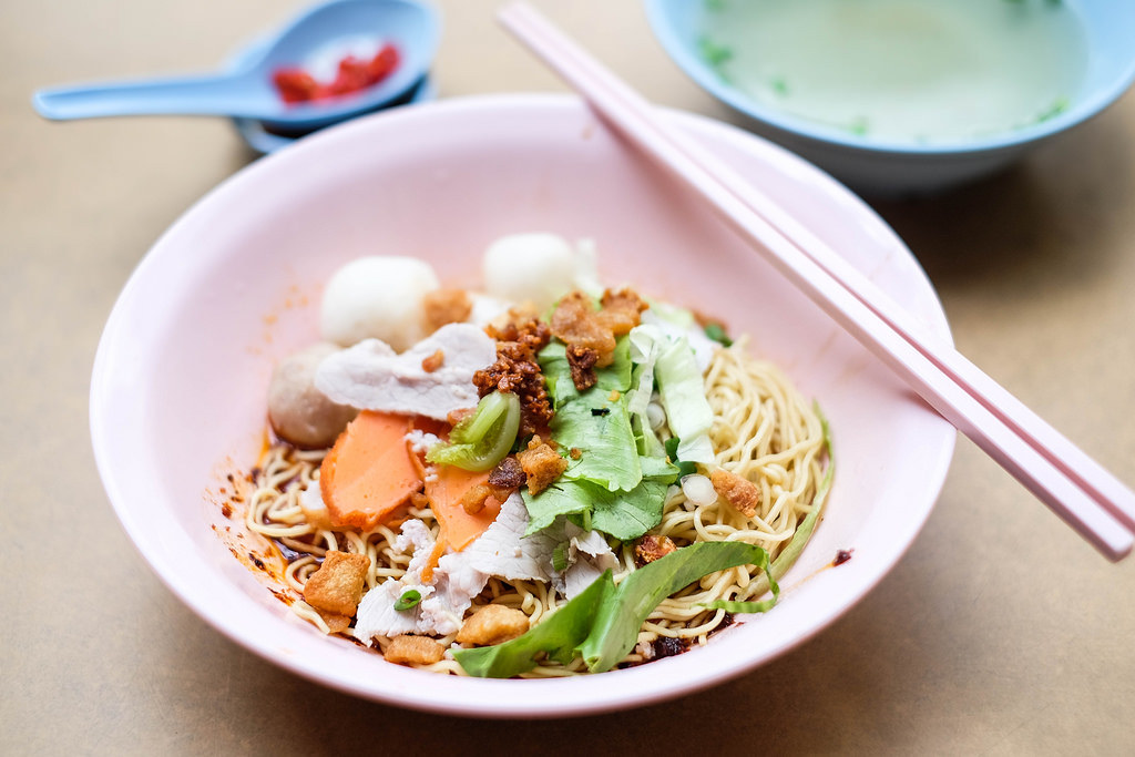Teochew Fish Ball Noodle