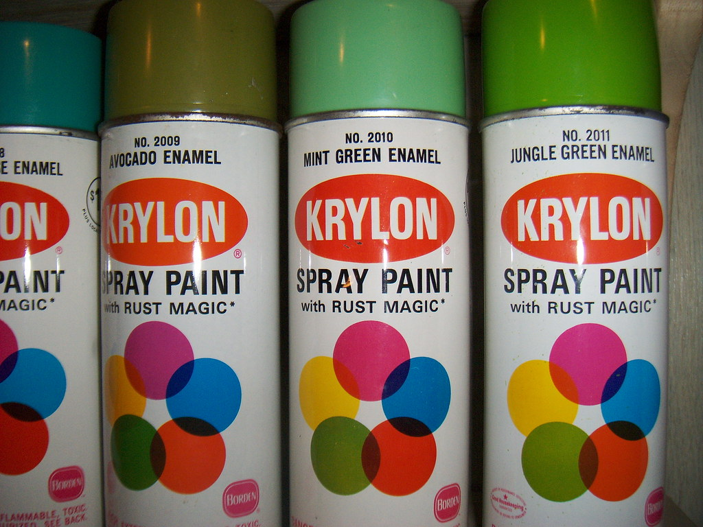 Krylon 68 Jungle Green And Mint Green Retrosigns Flickr