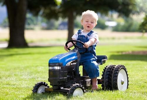 Little Farmer | My cute little nephew Riddley from a recent … | Flickr