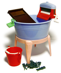 Marx's Toy Washing Tub, early 1950s | by galessa's plastics