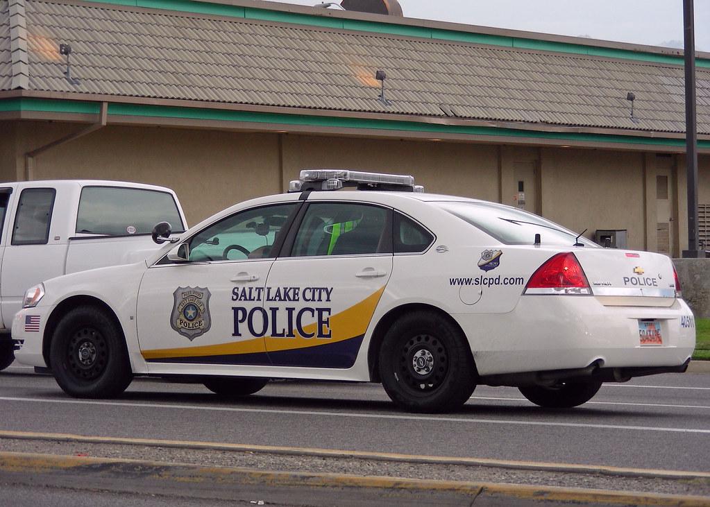 Salt Lake City Police Car
