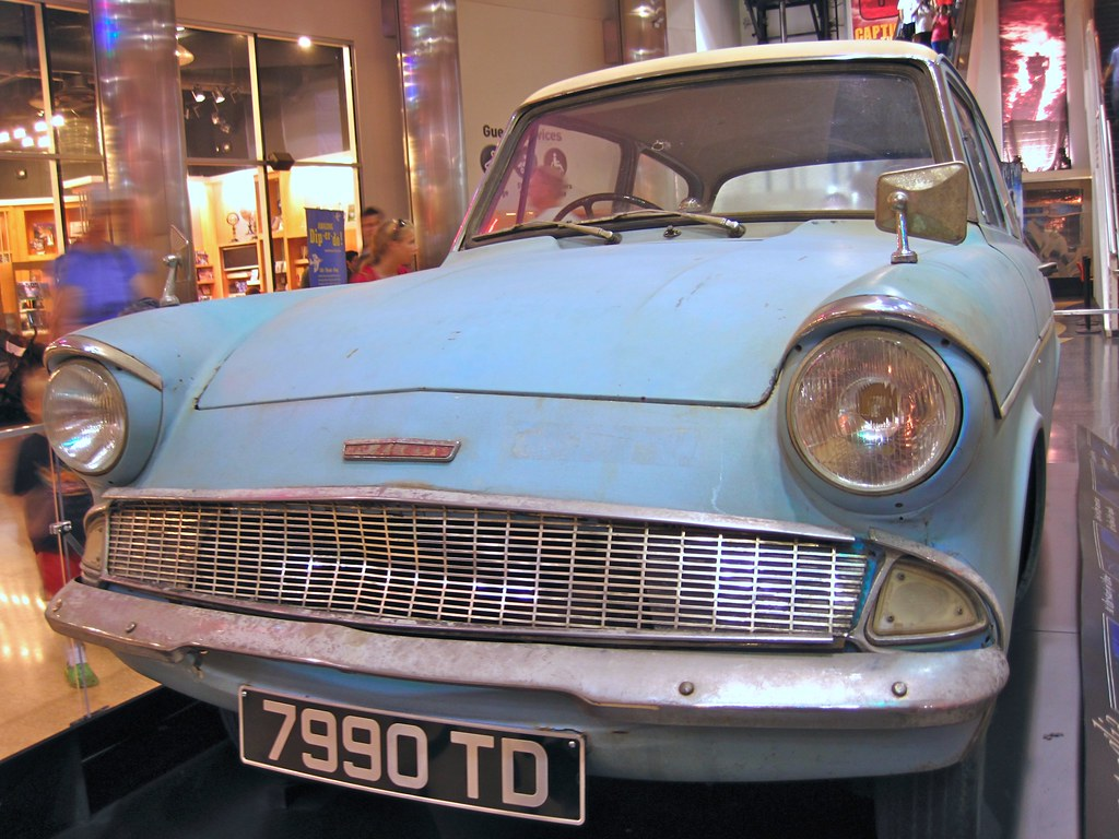 Car Broke Down >> 7990 td | Eek!!! It's the Ford Anglia! Deng, Jennie and I we… | Flickr