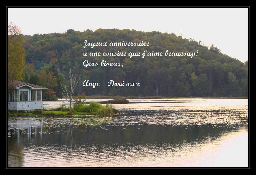 Joyeux Anniversaire A Ma Belle Cousine Zoane Joyeux Annive Flickr